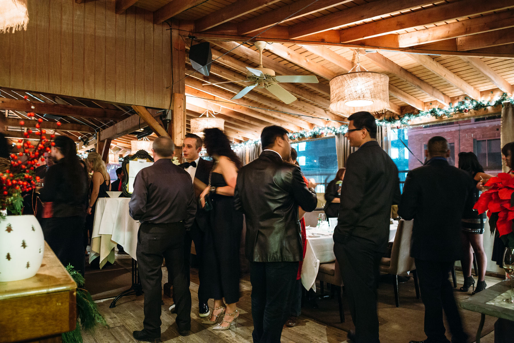 Toronto Event Venues - Rooftop Terrace - Corporate Holiday Party