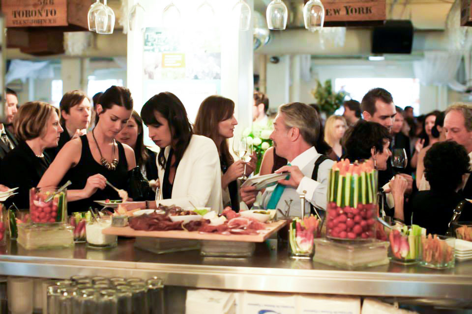 Toronto Corporate Event Venues - Conference Space Food Stations