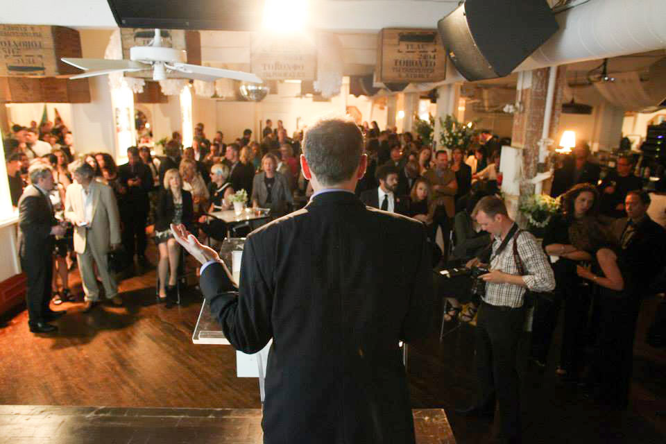 Downtown Toronto Event Venues - Conference Space Keynote Speaker