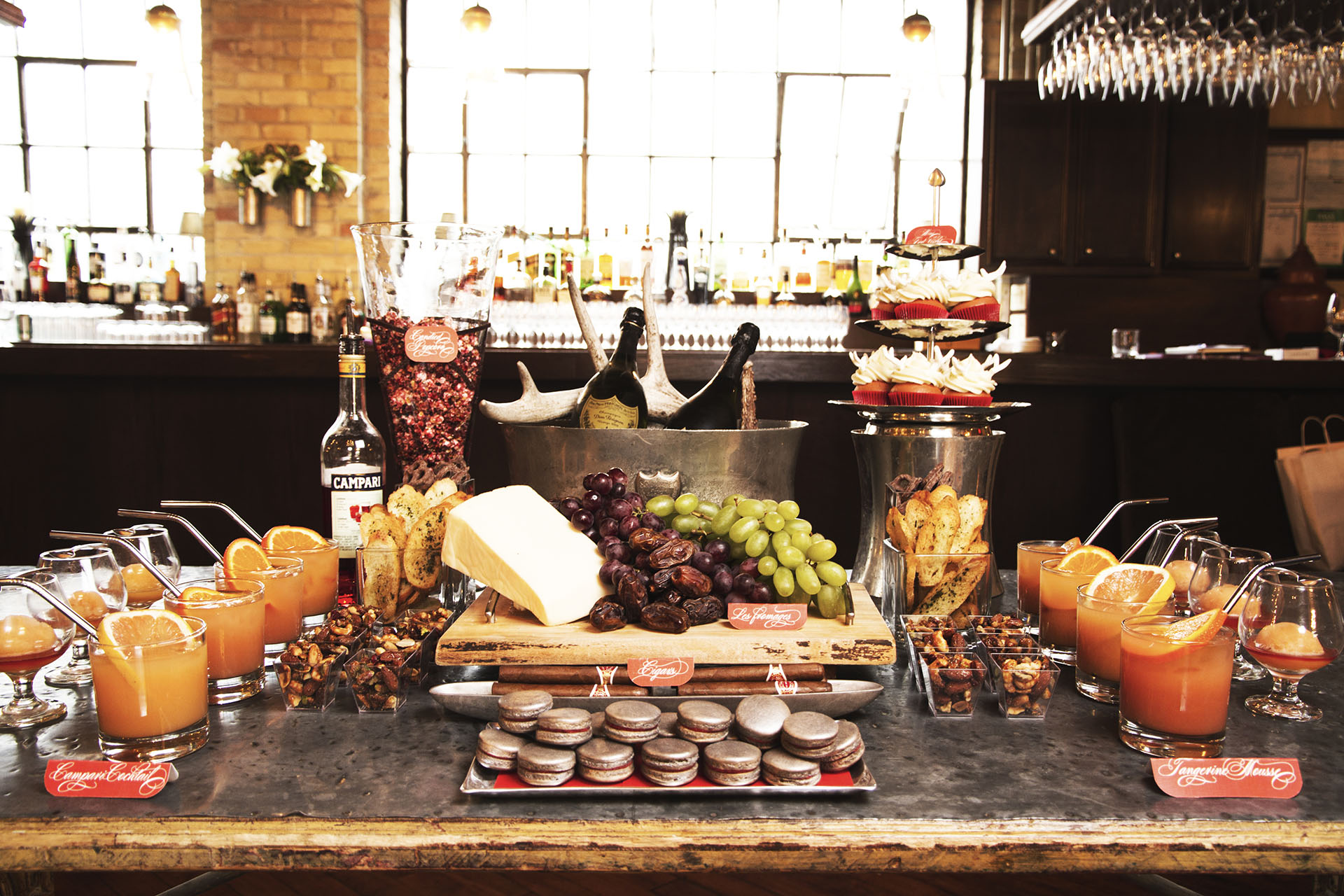 Event Catering Toronto - Cheese Board - Sweet Table - Signature Cocktails - Champagne