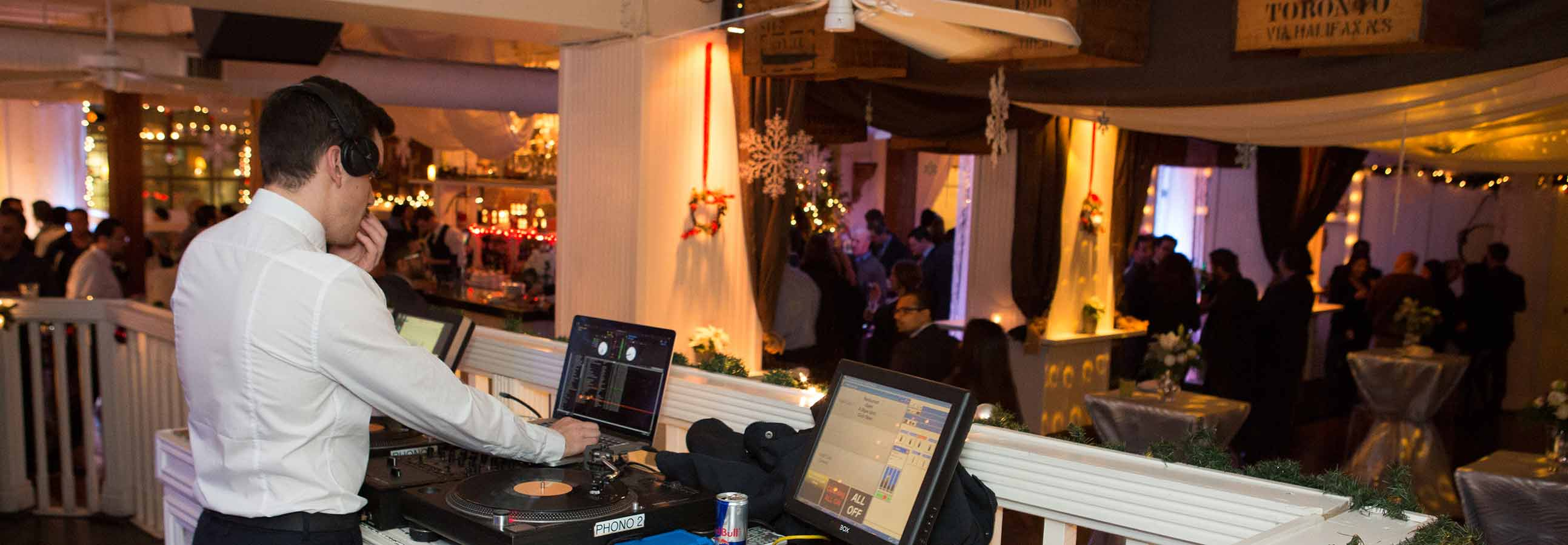 Toronto Event Venues - Holiday Party - Urban Loft with DJ Booth
