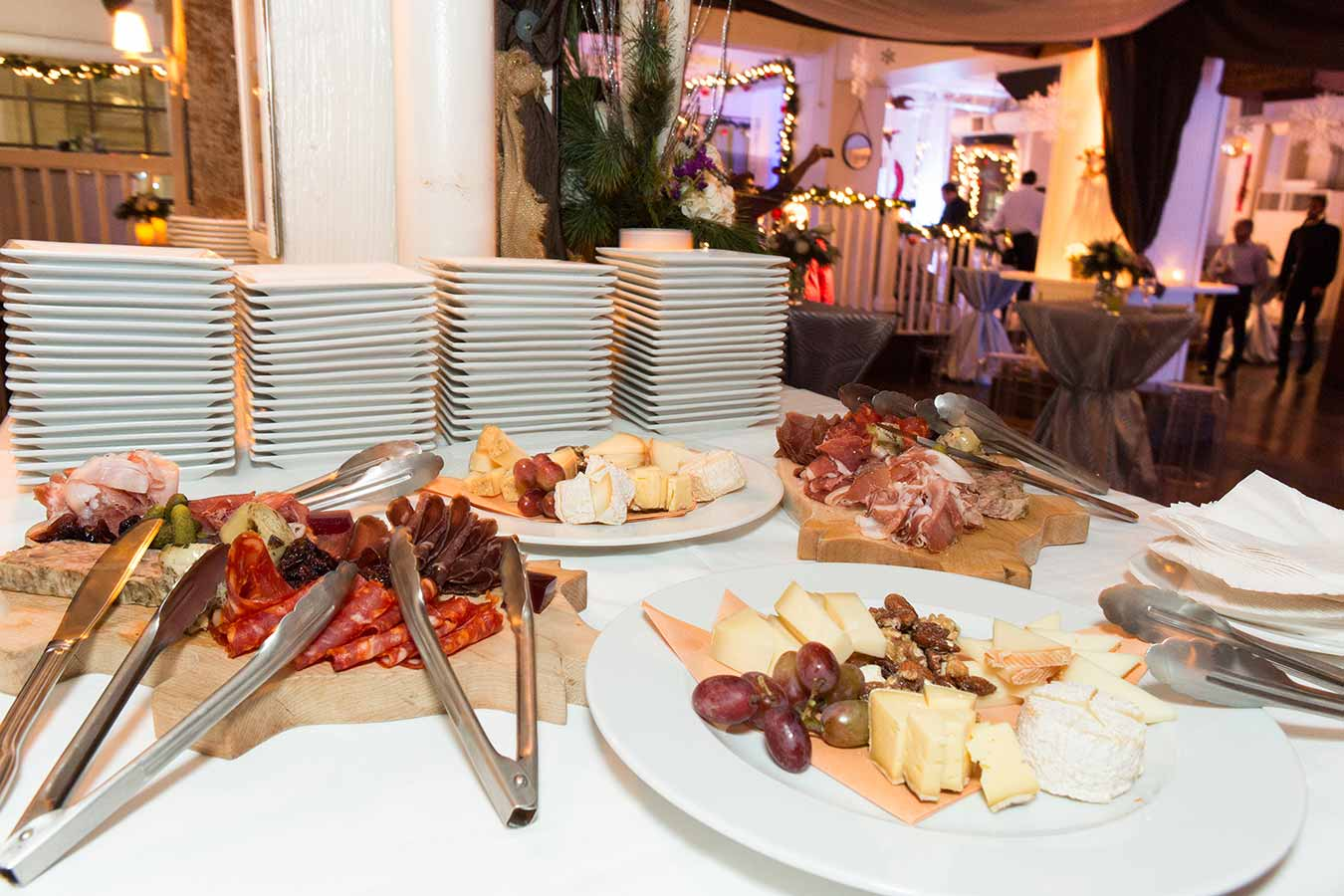 Toronto Event Venues - Holiday Party - Urban Loft - Food Station