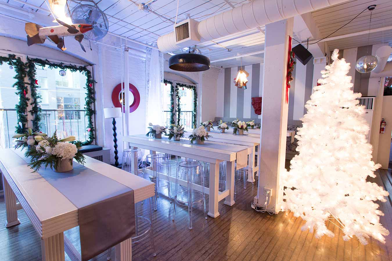 Downtown Toronto Event Venues - Holiday Party - Urban Loft