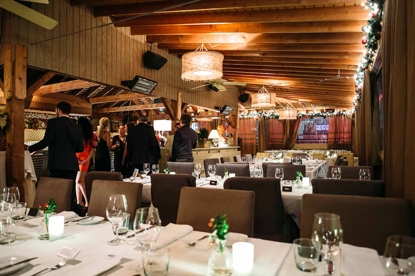 Toronto Corporate Event Venues - Rooftop Holiday Party