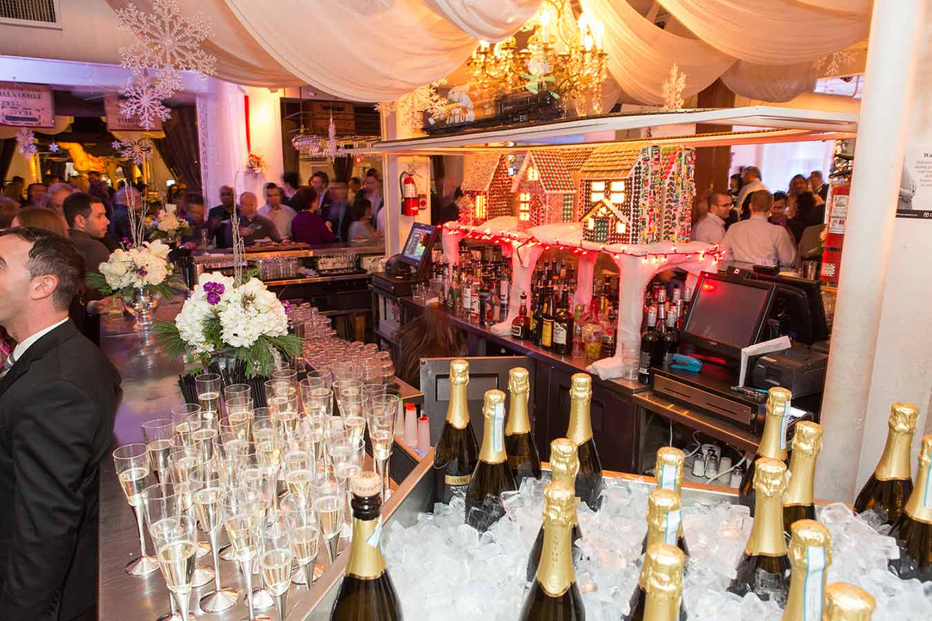 Toronto Corporate Event Venues - Holiday Party - Urban Loft with full service bar