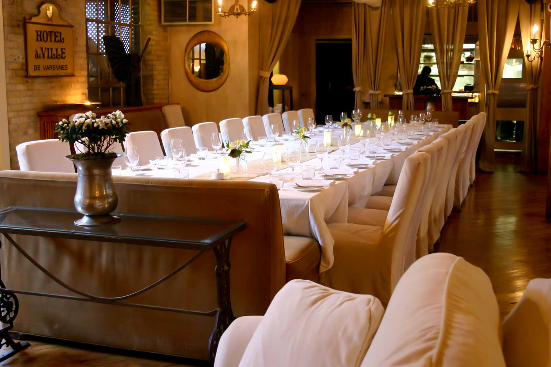 Toronto Event Venues - Corporate Events - Private Dining Room