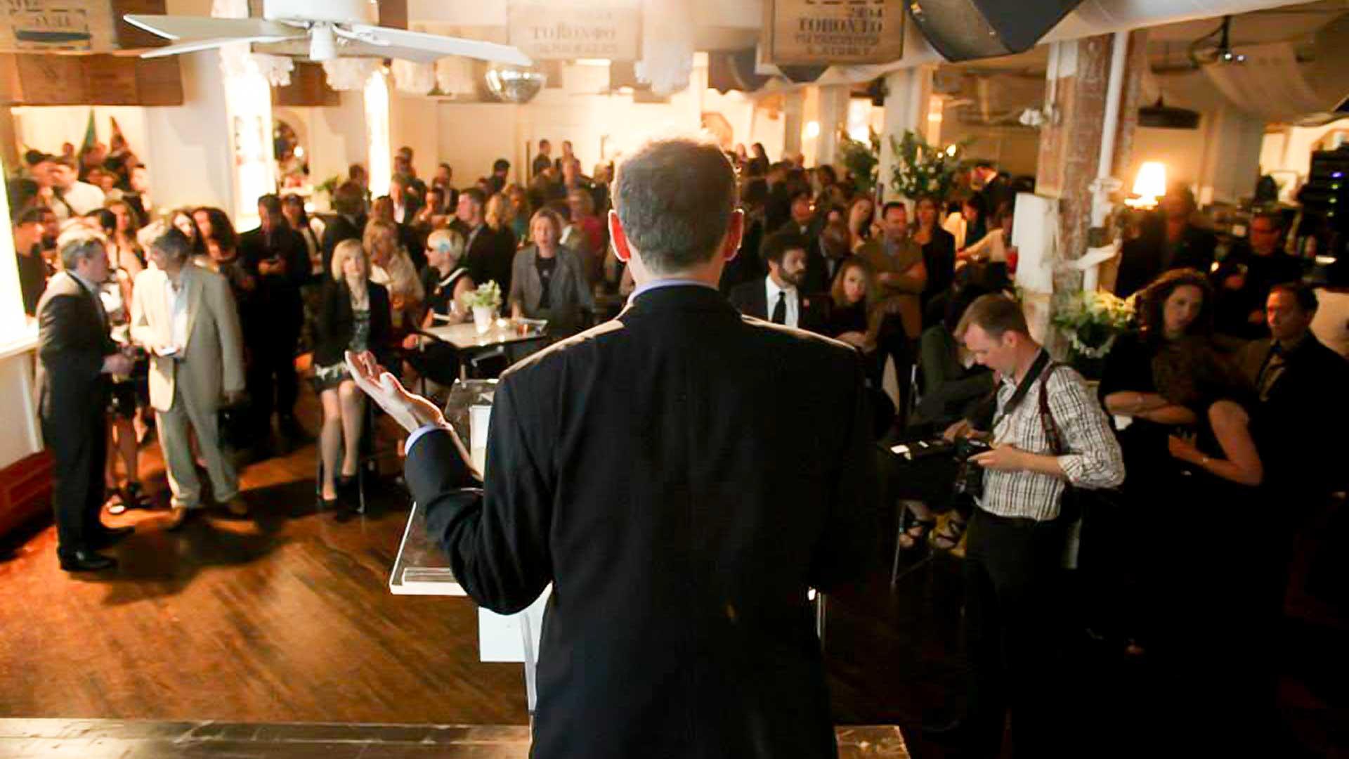 Toronto Event Venue Conference Keynote Speaker