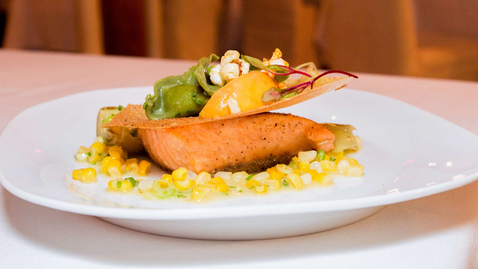 Event Catering by JP Challet Organic Salmon