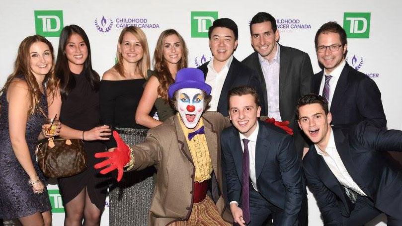 Fundraising Event Venue Toronto Red Carpet with Philanthropists