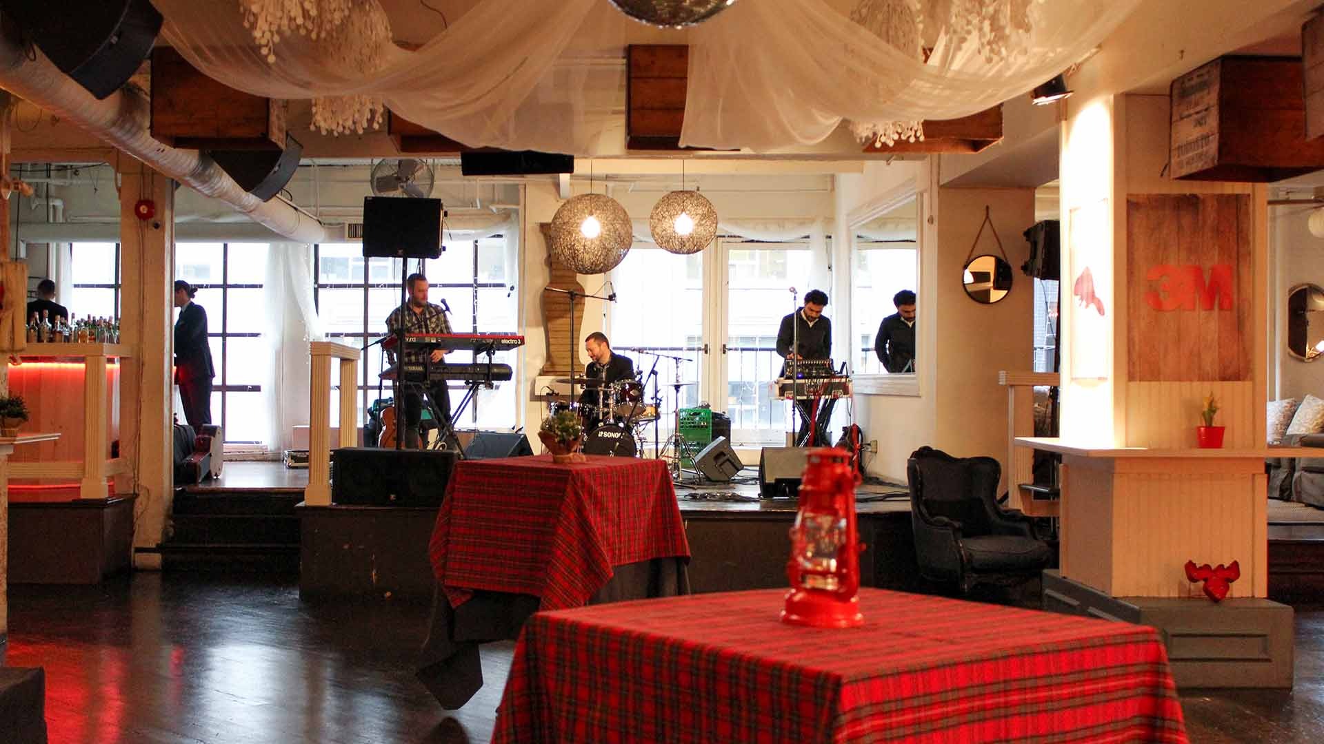 Toronto Event Venue Conference After Party Client Cocktail Event Live Band
