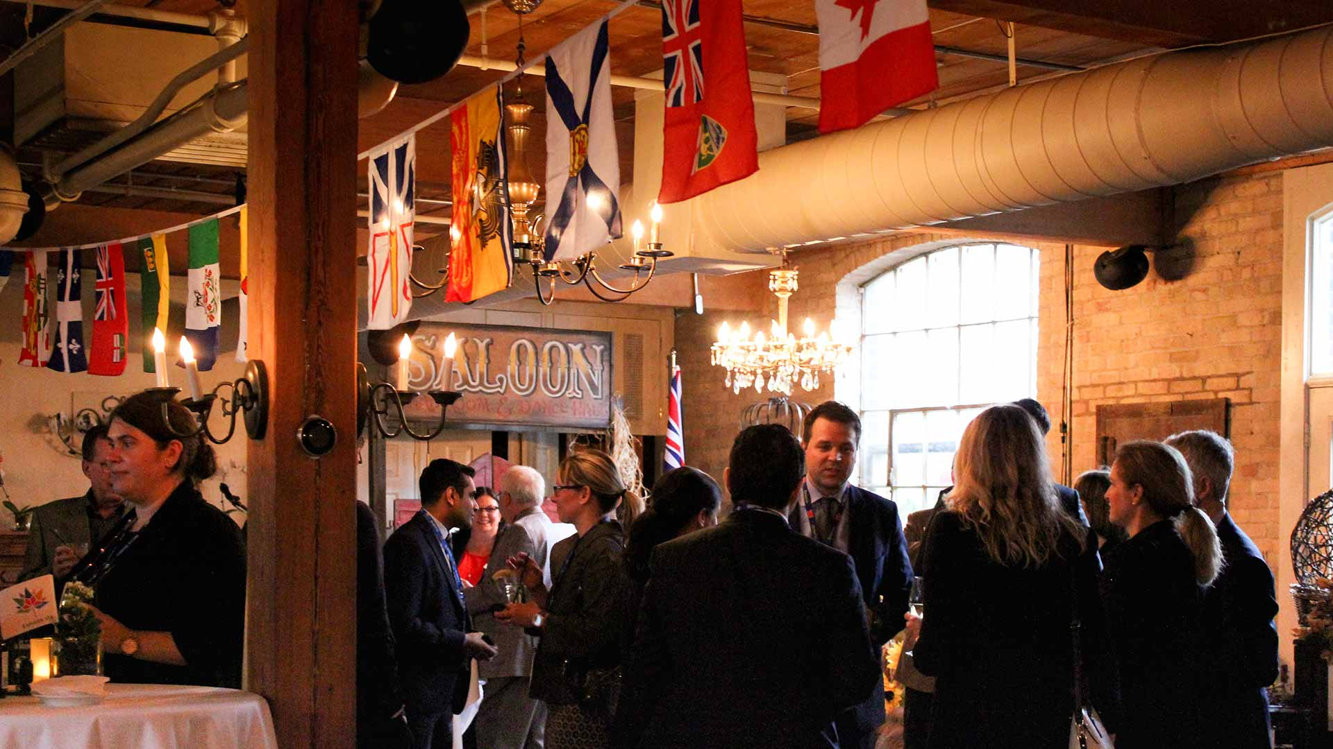 Toronto Event Venue Corporate Networking Event Canada 150